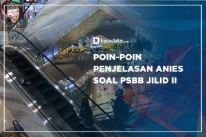 Poin-poin Penjelasan Anies Soal PSBB Jilid II