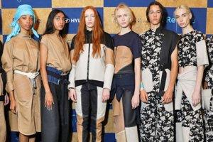 Bekerja sama dengan merek fesyen Zero + 'Maria Cornejo', Hyundai Motor Company memperkenalkan koleksi pakaian upcycling di New York.