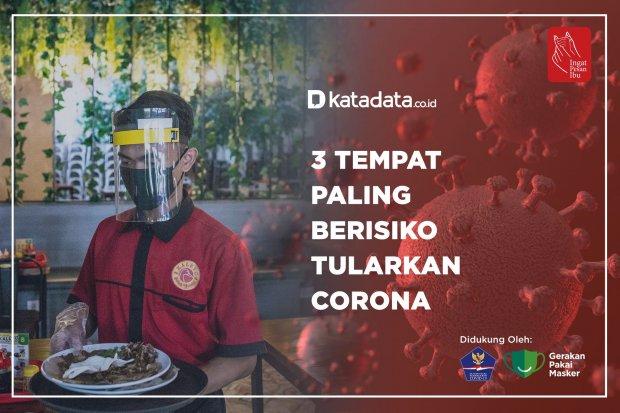 3 Tempat Paling Berisiko Tularkan Corona 1