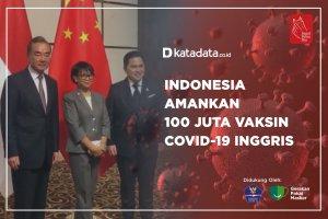 Indonesia Amankan 100 Juta Vaksin Covid-19 Inggris