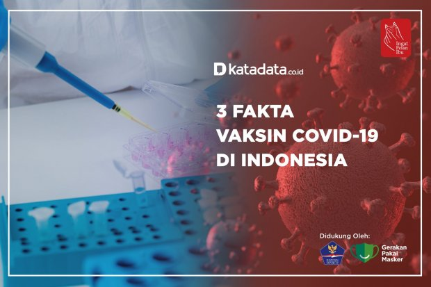3 Fakta Vaksin Covid-19 di Indonesia