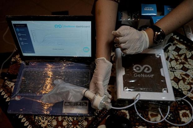 GoNose, alat pendeteksi covid buatan UGM,