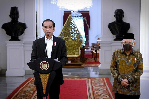 jokowi, bubarkan 10 lembaga non struktural, perpres 112 2020