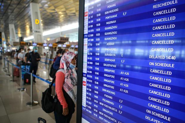 maskapai, penerbangan, bandara sokarno hatta