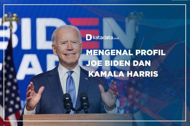 Mengenal Profil Joe Biden dan Kamala Harris