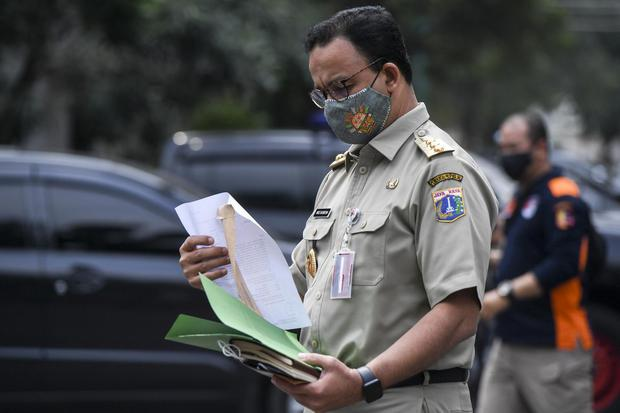 Anies Baswedan, DKI Jakarta, Rizieq Shihab, Pandemi Corona, Covid-19, FPI.