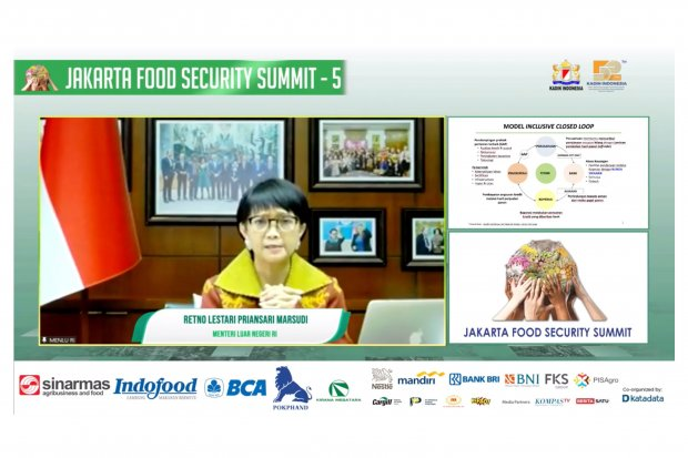JFSS, pangan, menteri retno marsudi, koridor perjalanan, jepang, internasional