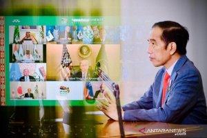 Presiden Joko Widodo Menghadiri KTT G20 Secara Virtual pada Sabtu (21/11)