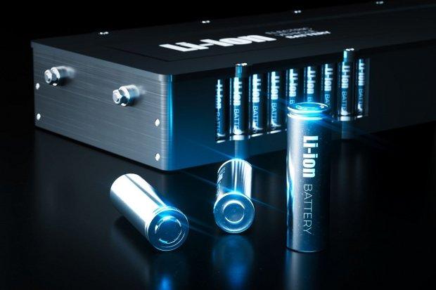 Ilustrasi baterai lithium-ion