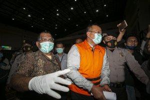 KPK Tahan Menteri Kelautan dan Perikanan, Edhy Prabowo
