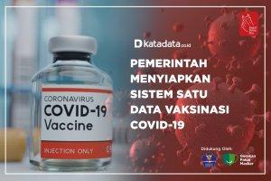Pemerintah Menyiap Sistem Satu Data Vaksin Covid-19