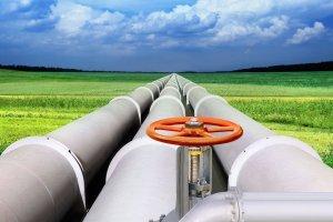 Ilustrasi pipa gas
