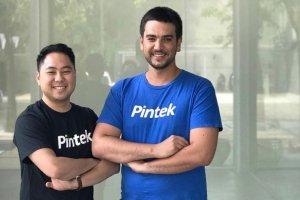 Co-founder sekaligus Direktur Utama Pintek Tommy Yuwono dan Co-founder Pintek Ioann Fainsilber