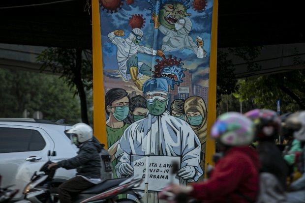 Kasus Corona di Indonesia