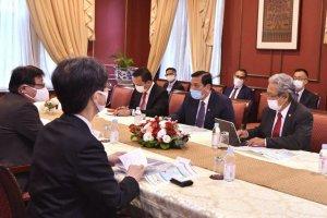 Kunjungan Menteri Kemaritiman dan Investasi Luhut Binsar Pandjaitan di Jepang.