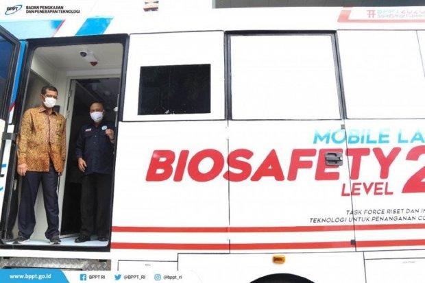 BPPT Meluncurkan Kendaraan Mobile Lab BSL2