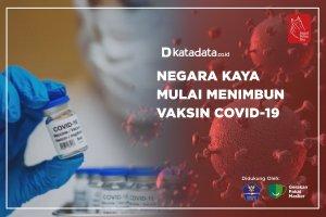 Negara Kaya Mulai Menimbun Vaksin Covid-19