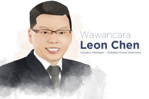 Country Manager Alibaba Cloud Indonesia. Leon Chen