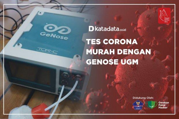Tes Corona Murah Dengan GeNose UGM