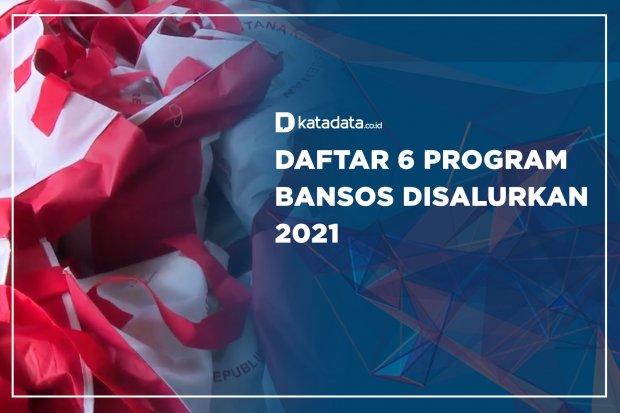 6 Program Bansos Disalurkan 2021