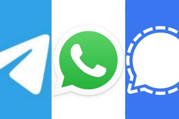 Pesaing Buat Fitur Baru, Jumlah Pengguna WhatsApp Melorot