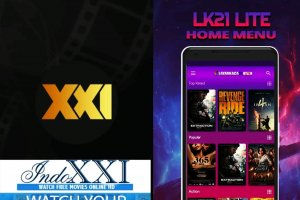 Aplikasi streaming film dengan XXI dan LK21