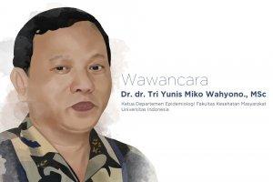 Ketua Departemen Epidemiologi FKM Universitas Indonesia Dr Tri Yunis Miko Wahyono (Ilustrasi; Joshua Siringo-Ringo)