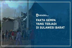 5 Fakta Gempa yang Terjadi di Sulawesi Barat