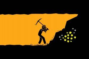 Ilustrasi tambang emas