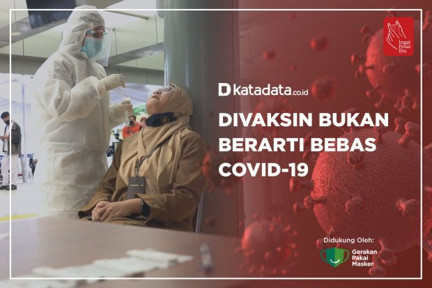 Divaksin Bukan Bearti Bebas Covid-19