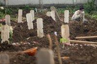 Lahan Pemakaman Covid-19 di Jakarta