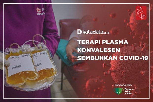 Terapi Plasma Konvalesen Sembuhkan Covid-19