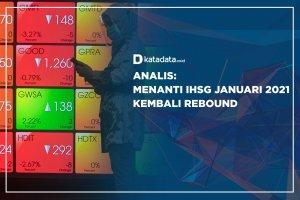 Analis Menanti Kapan IHSG Januari 2021 Kembali Rebound?