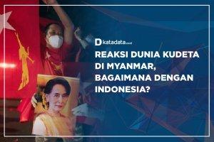Reaksi Dunia Kudeta di Myanmar, Bagaimana dengan Indonesia ?