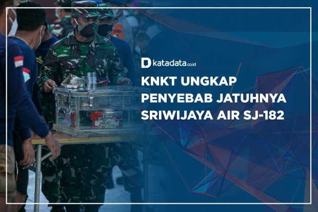 KNKT Ungkap Penyebab Jatuhnya Sriwijaya Air SJ-182