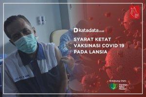 Syarat Ketat Vaksinasi Covid-19 Untuk Lansia