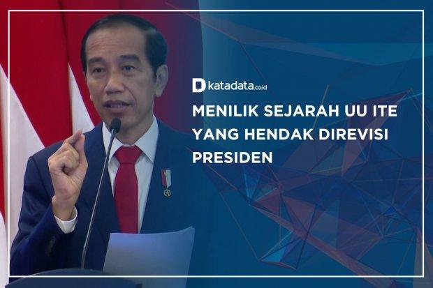 Menilik Sejarah UU ITE yang Hendak Direvisi Presiden