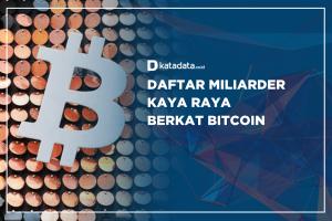Daftar Miliarder Kaya raya Berkat Bitcoin