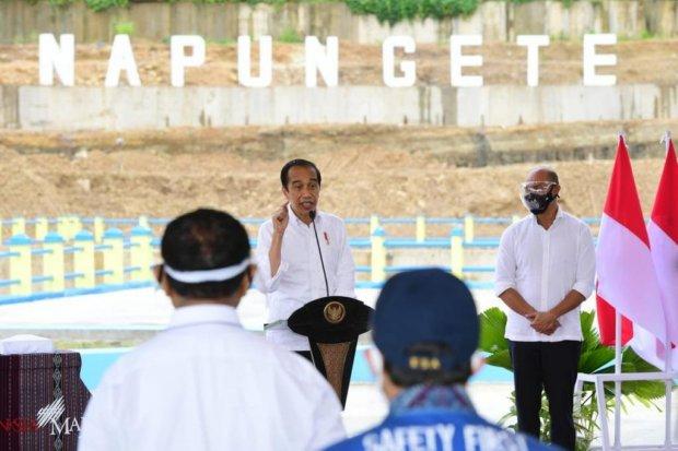NTT, bendungan, Jokowi