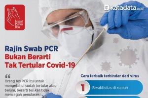 Poster Satgas Rajin Swab PCR