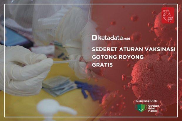 Sederet Aturan Vaksinasi Gotong Royong Gratis