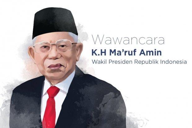 Wakil Presiden RI Ma'ruf Amin.