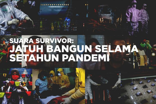 Suara Survivor Jatuh Bangun Selama Setahun Pandemi