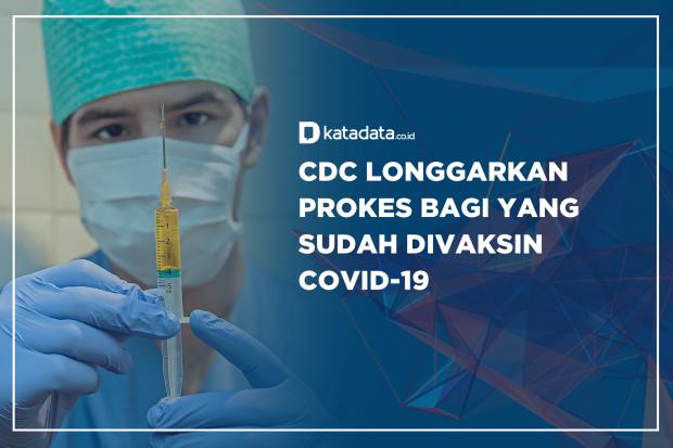CDC Longgarkan Prokes Bagi yang Sudah di Vaksin Covid-19