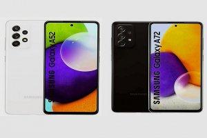 Bocoran tampilan Samsung Galaxy A52 dan A72