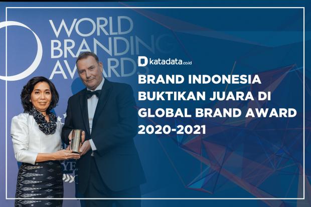 Brand Indonesia Buktikan Juara di Global Brand Award 2020-2021