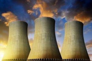 Ilustrasi pembangkit listrik tenaga nuklir