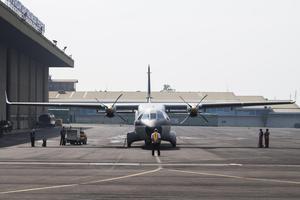 FERRY FLIGHT PESAWAT CN235-220 MPA KE SENEGAL