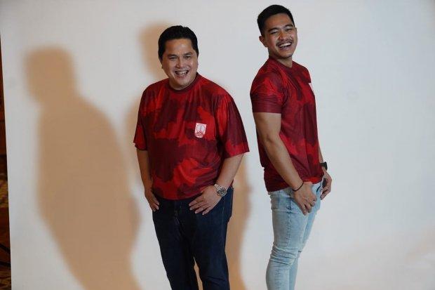 Erick Thohir dan Kaesang memiliki saham klub Persis Solo.