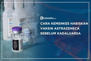 Cara Kemenkes Habiskan Vaksin AstraZeneca Sebelum Kadaluarsa